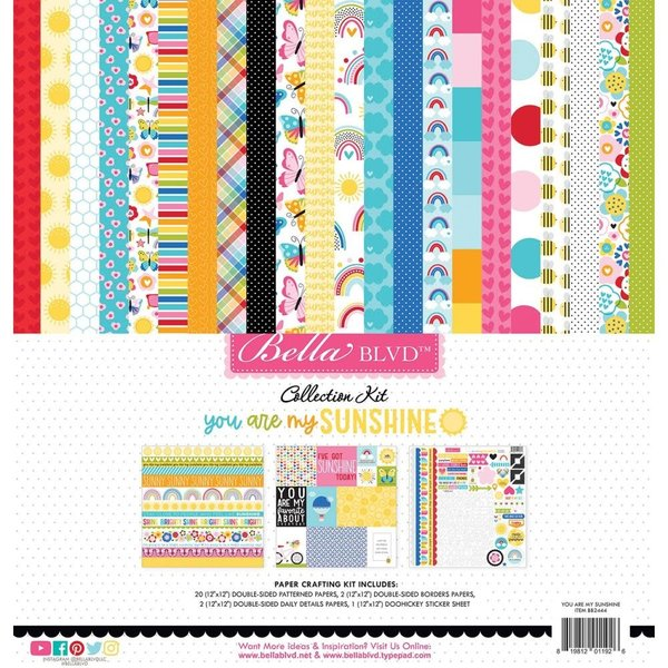Bella Blvd Collection Kit 12x12 (you are my sunshine)