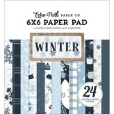 Echo Park Paper Double-Sided Paper Pad 6x6 (winter)