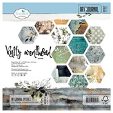 Elizabeth Craft Designs Double-Sided Cardstock Pack - Art Journal (rusty weathered)