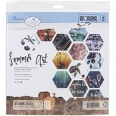 Elizabeth Craft Designs Double-Sided Cardstock Pack - Art Journal (summer art)