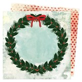 American Crafts Double-Sided Cardstock 12x12 - Warm Wishes (holiday wishes)