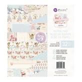Prima Marketing Paper Pad 8X8 (christmas sparkle)