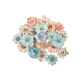Prima Marketing Mulberry Paper Flowers - Christmas Sparkle (christmas lights)