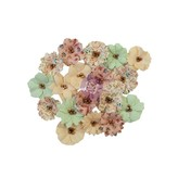 Prima Marketing Mulberry Paper Flowers - Hello Pink Autumn (cozy evening)