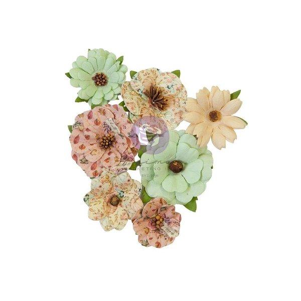 Prima Marketing Mulberry Paper Flowers - Hello Pink Autumn (warm mittens)