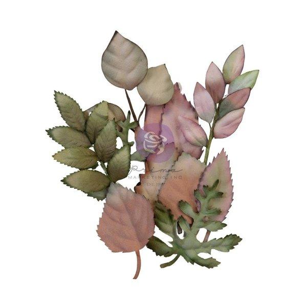Prima Marketing Mulberry Paper Flowers - Hello Pink Autumn (autumn foliage)