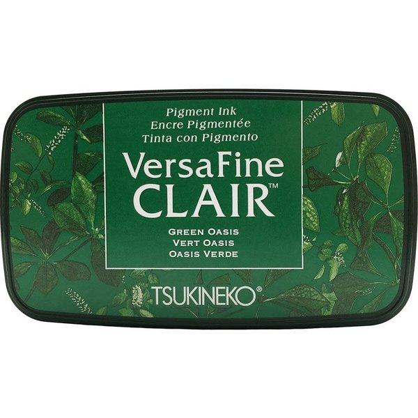 Tsukineko VersaFine Clair Ink Pad (green oasis)