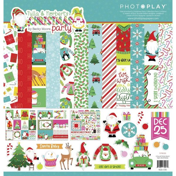 Photoplay Paper Collection Pack 12x12 (tulla & norbert's christmas party)