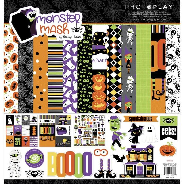 Photoplay Paper Collection Pack 12x12 (monster mash)