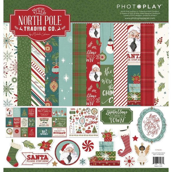 Photoplay Paper Collection Pack 12x12 (the north pole trading co.)