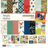 Simple Stories Double-Sided Paper Pad 12x12 (howdy!)