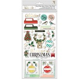 American Crafts Phrase/Icon Thickers (warm wishes)
