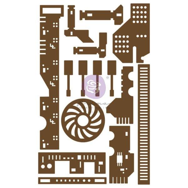 Prima Marketing Laser Cut Chipboard (all the parts)