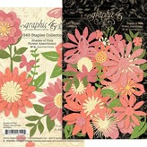 Graphic 45 Staples Flower Assortment (shades of pink)