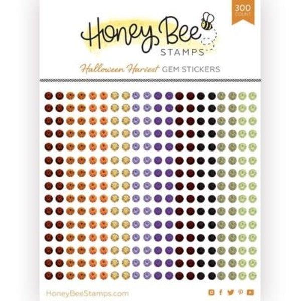 Honey Bee Stamps Gem Stickers (halloween harvest)