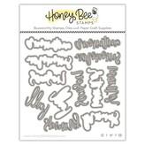 Honey Bee Stamps Honey Cuts Die (bitty buzzwords: seasons)