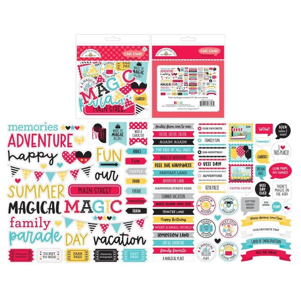 Doodlebug Odds & Ends Chit Chat Die-Cuts (fun at the park)