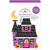 Doodlebug Doodle-Pops 3D Stickers - Happy Haunting (happy haunting)