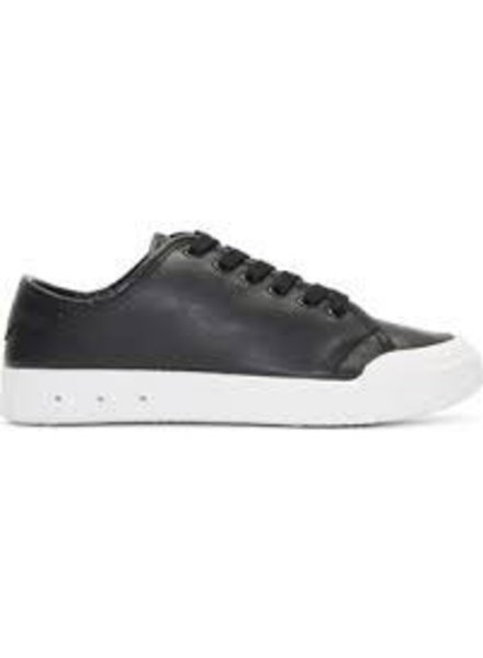 RAG & BONE BLACK LEATHER LACE UP SHOE