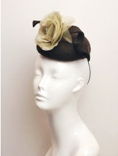 PATRICIA MELICAN MILLINERY ALI BUTTON FASCINATOR