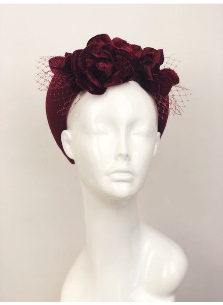 PATRICIA MELICAN MILLINERY THE PHEOBE CROWN