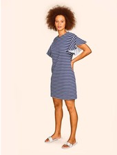 KINLY FLUTTER SLEEVE DRESS