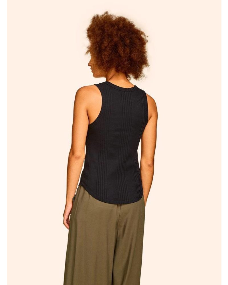 KINLY FITTED SHIRT TAIL TANK