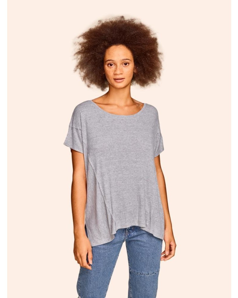 KINLY DIRECTIONAL RIB TEE