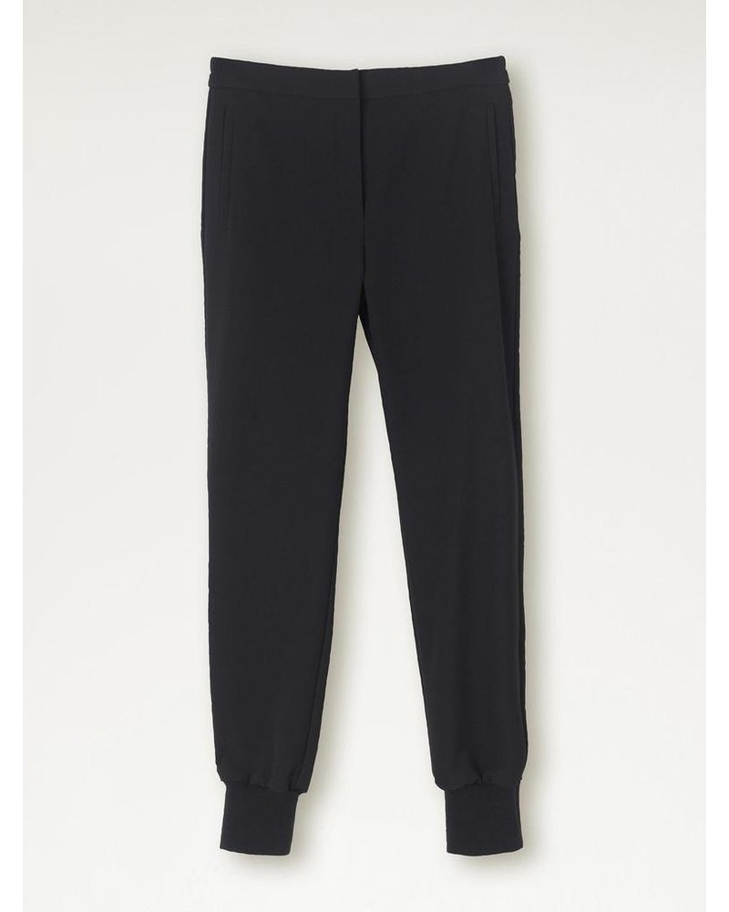 BY MALENE BIRGER BLACK JOGGER TROUSER
