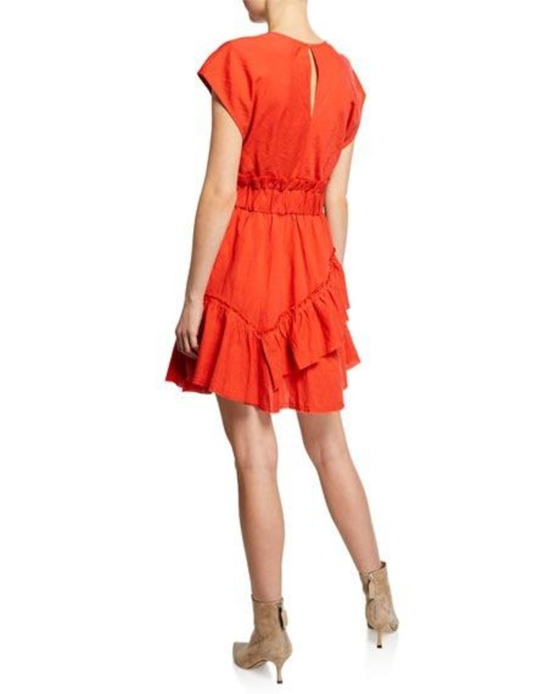IRO BILLOW RED DRESS