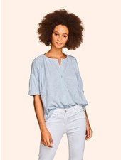 KINLY ROLLED CUFF SHIRT SKY