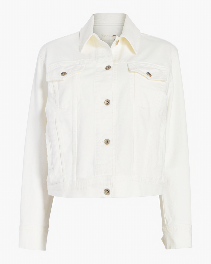 RAG & BONE OVERSIZED JACKET IN VINTAGE WHITE