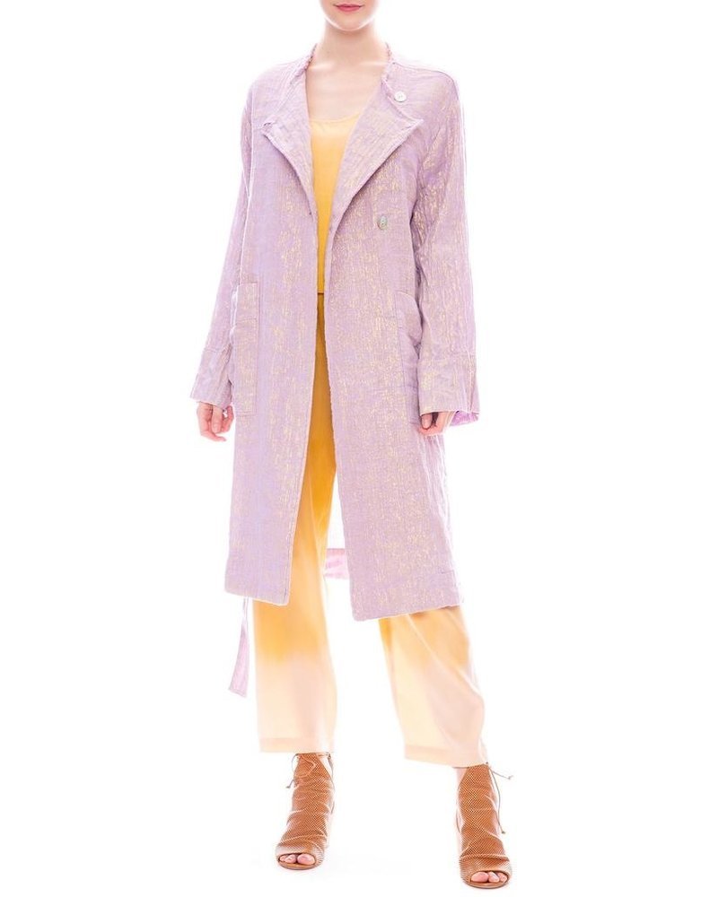 RAQUEL ALLEGRA CROPPED TRENCH