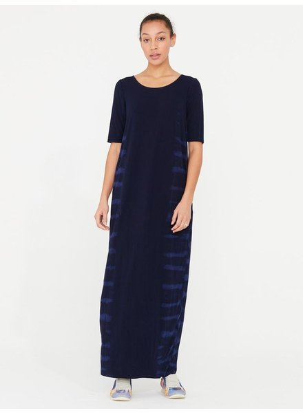 RAQUEL ALLEGRA BLUE WATERS COLUMN DRESS TD