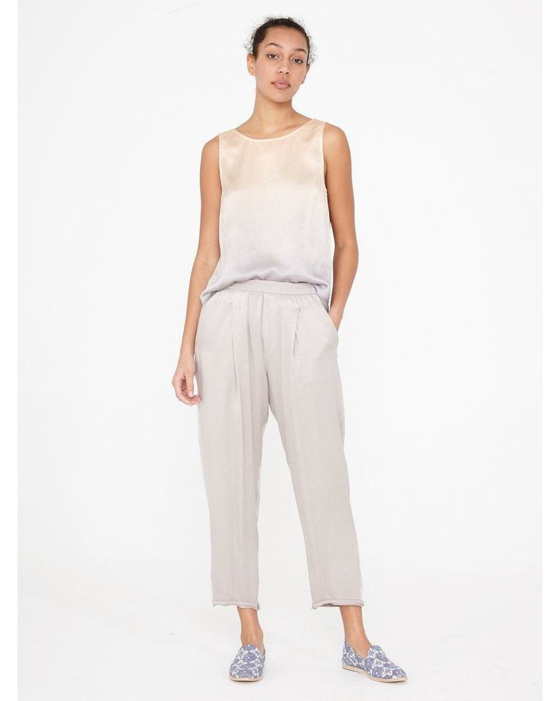 RAQUEL ALLEGRA SATIN SWEATPANT