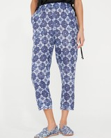 RAQUEL ALLEGRA BLUES PULL ON PANT