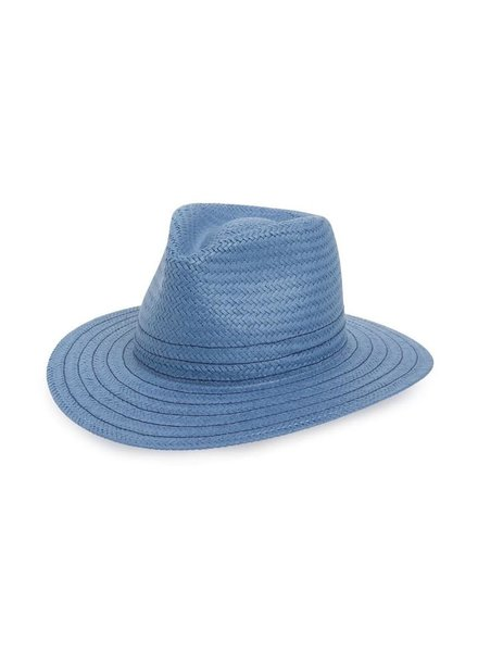RAG & BONE BLUE FEDORA