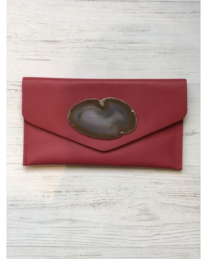 KRAVA RED LEATHER