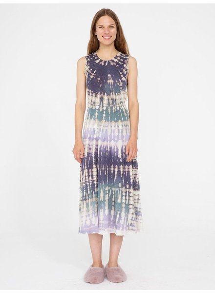 RAQUEL ALLEGRA VIOLET MIDI DRESS