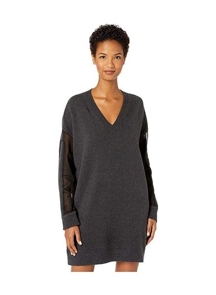 MCQ V NECK TUNIC DRESS