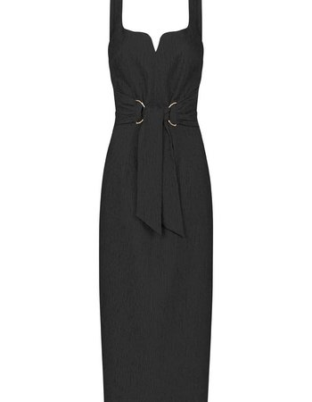 REBECCA VALLANCE GRETA MIDI DRESS