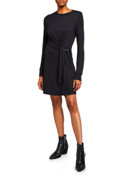RAG & BONE DRAPED SHAW MINI DRESS