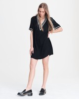 RAG & BONE ALTHEA V NECK DRESS