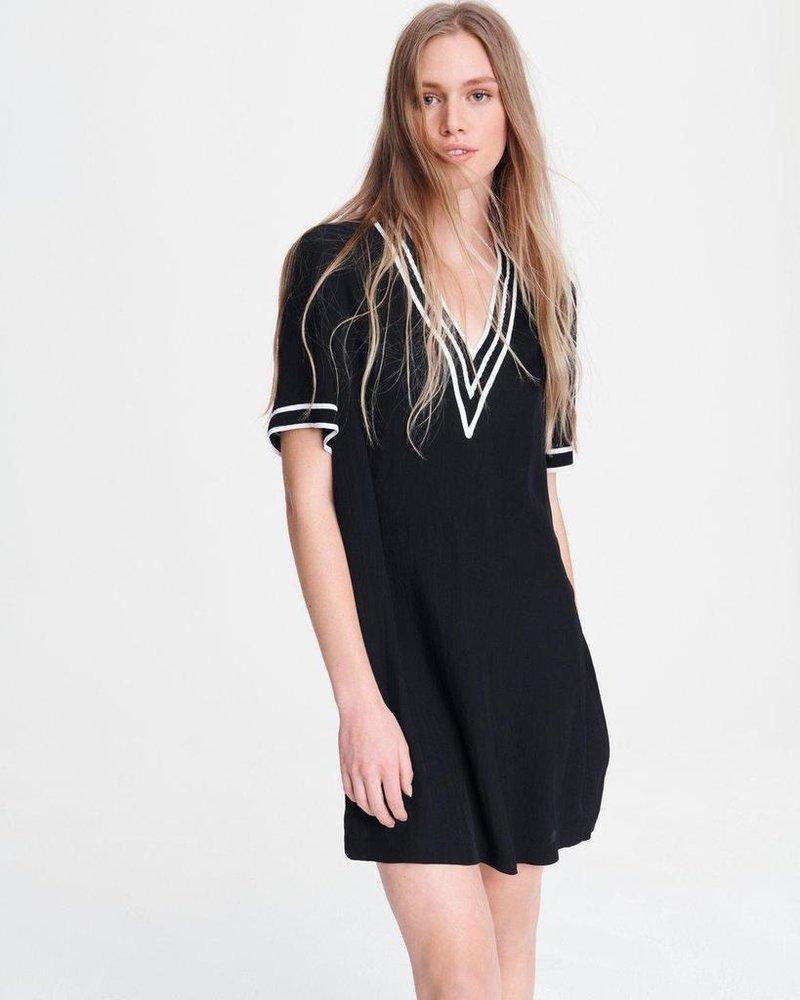 RAG & BONE ALTHEA V NECK DRESS