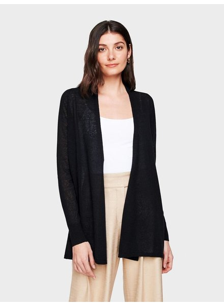 WHITE + WARREN TRAPEZE CARDIGAN