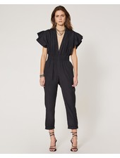 IRO PLEONA BLACK JUMPSUIT