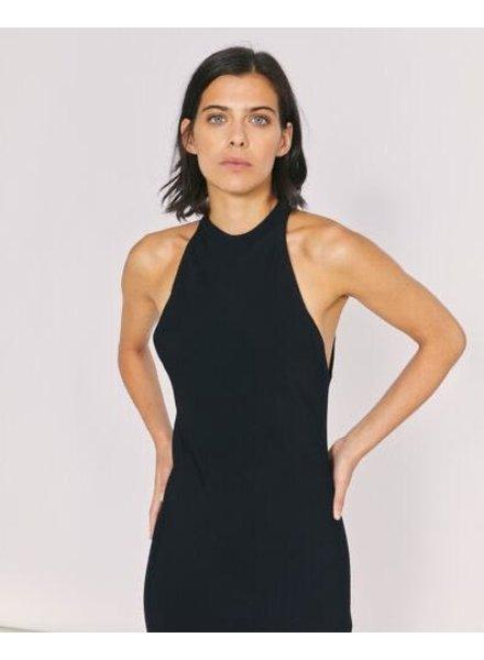 IRO BLACK LONG SILK DRESS
