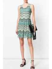M MISSONI ZIG ZAG PRINT DRESS