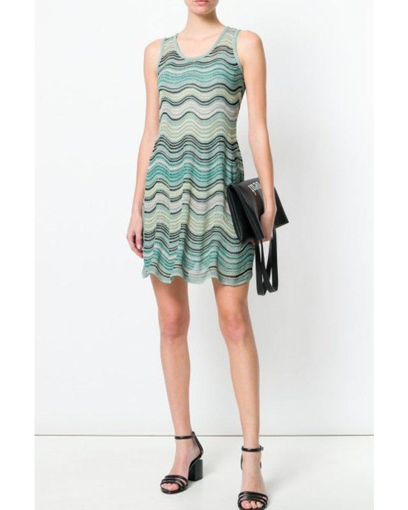 M Missoni Zig Zag Print Dress