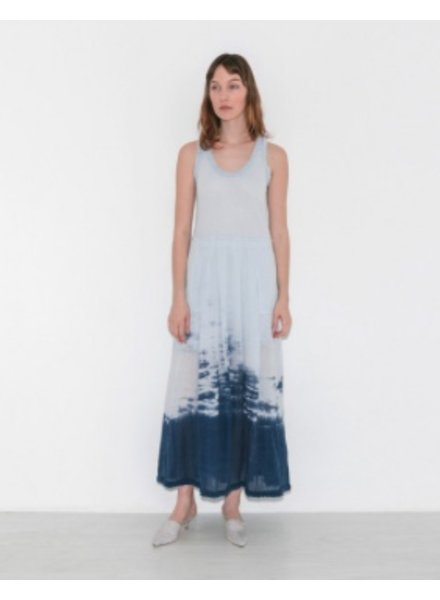 RAQUEL ALLEGRA PLEATED MEDLEY DRESS